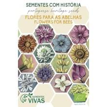 Mistura de Flores para Abelhas e outros Polinizadores
